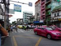 Roaming around Bangkok busy streets