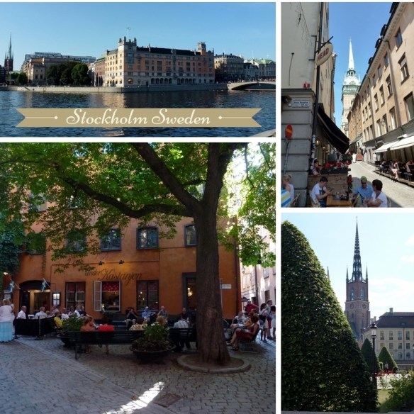 Stockholm Sweden Collage