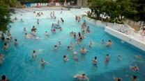 Sunparks De Haan Belgium wave pool