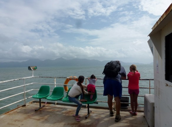 Koh Chang Journey - on the ferry