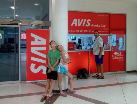 Avis Thailand  Chiang Mai Airport