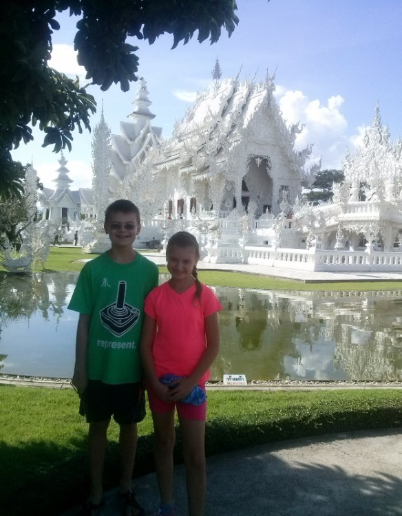 The White Temple - Wat Rong Khun Chiang Rai Read more on WagonersAbroad.com