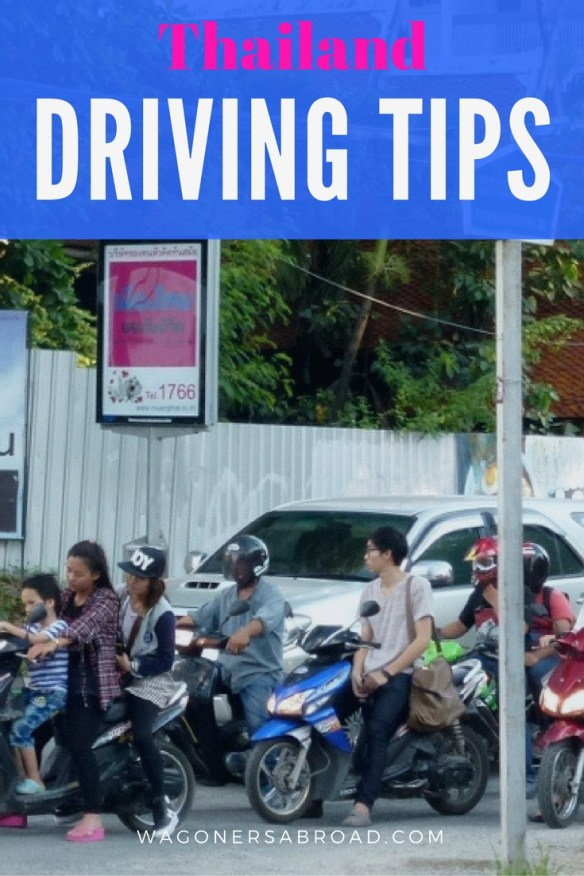 The Wagoners Abroad explain what driving in Thailand is really like. Check out the post, and get two MAJOR tips for driving on the left side of the road. Read more on WagonersAbroad.com