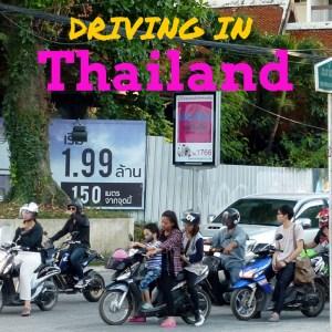 Driving in Thailand