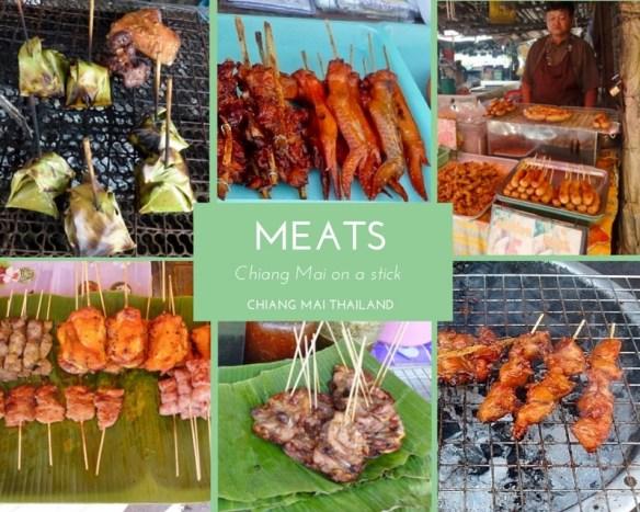 Meats on a stick