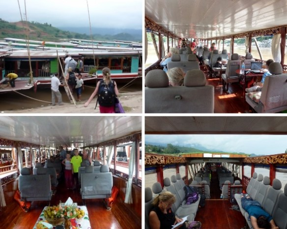 Nagi of Mekong 2 day slow boat Thailand Laos