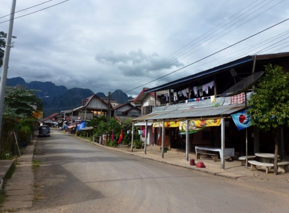 Around town Vang Vieng Laos