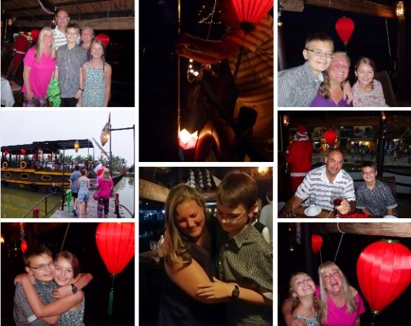 Christmas Eve 2014 Hoi An Dinner Cruise