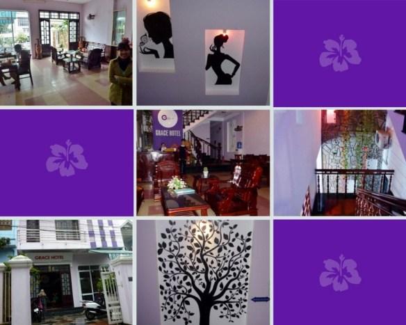 Grace Hotel Lobby Hue Vietnam