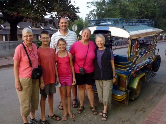 Luang Prabang - Wagoners Abroad with Double Trouble on the go