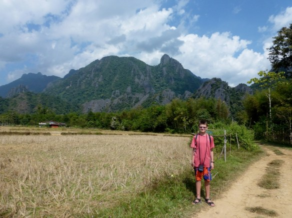 Vang Vieng Scooter Time Blue Lagoon and Cave