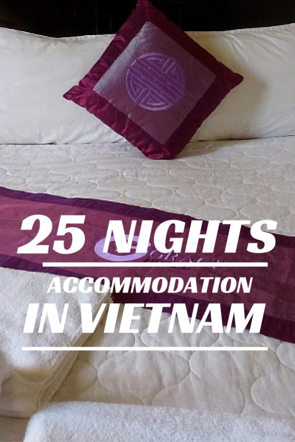 26 Nights Accommodation in Vietnam