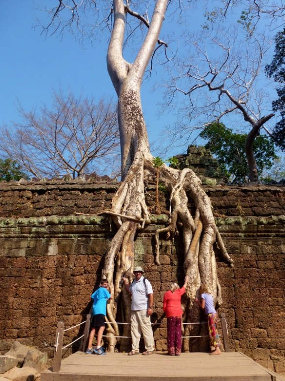 Wagoners Abroad at Angkor Temples - Ta Prohm,