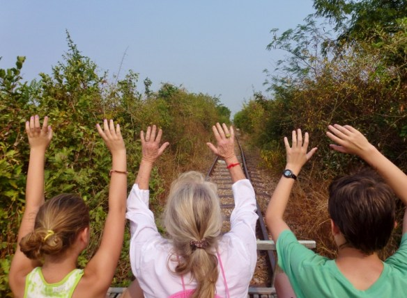 Bamboo Train Battambang Cambodia (2)