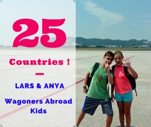 Country 25 for the Wagoners Abroad Kids!