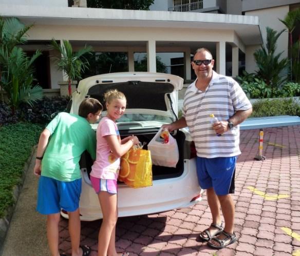 Europcar getting groceries