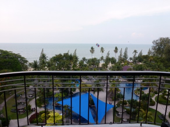 Golden Sands Resort Penang View