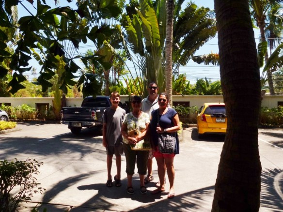 Boys day out with Grandma and Mel Phuket Thailand Feb 2015