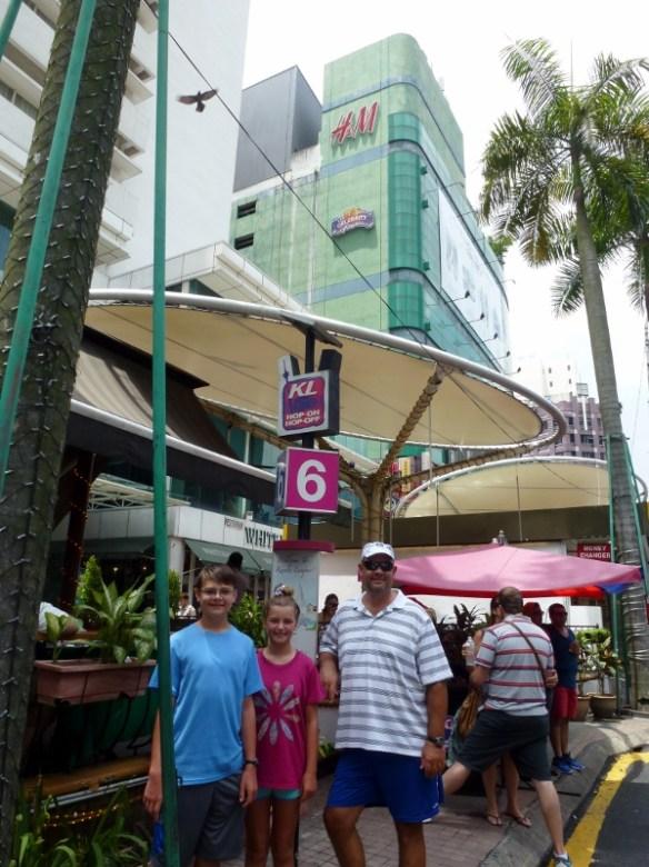 Kuala Lumpur hop on hop off Stop number 6