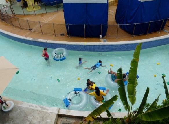 Legoland Water Park Johor Bahru Malaysia Build a Raft
