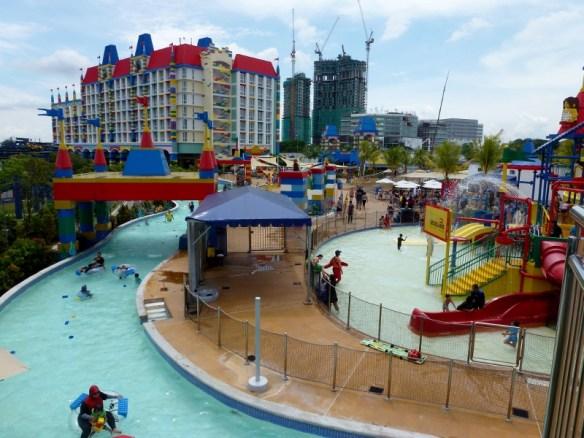 Legoland Water Park Johor Bahru Malaysia Build a raft lazy river