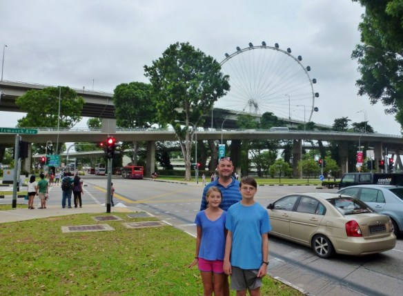 Singapore with kids - Things to do and see Singapore Flyer