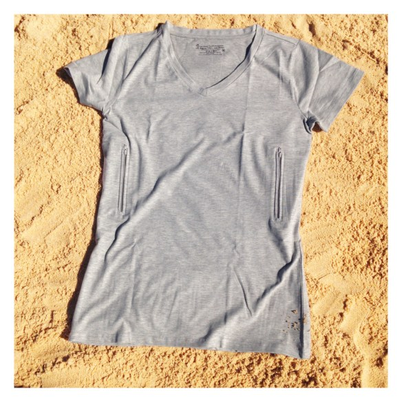 clever travel companion fitted tee