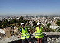 Granada-Spain-Segway-Tour-with-EnSegway-Albaicin-Great-View-with-Lars-and-Anya