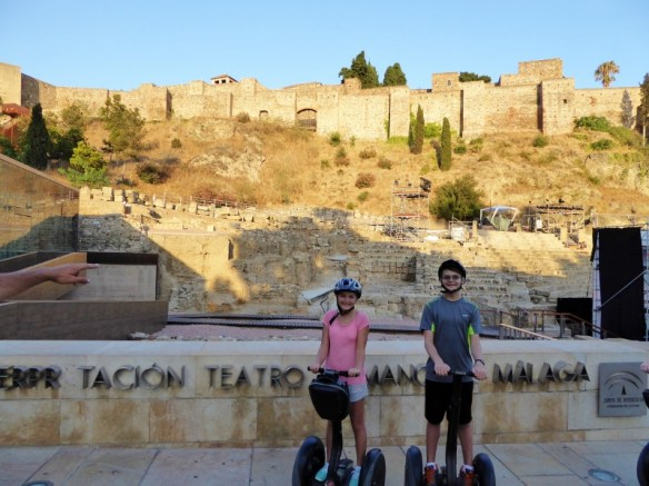 Malaga segway tours are a great way to experience the city
