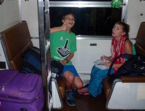 Sleeper Train Bangkok to Chumphon