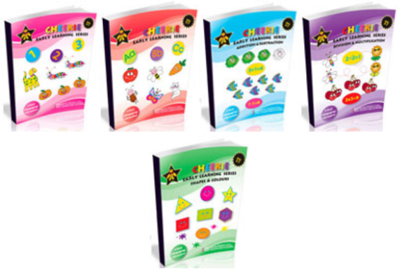 5 Educational Jumbo Workbooks For Early Learning 5 Fun Coloring Activity Books