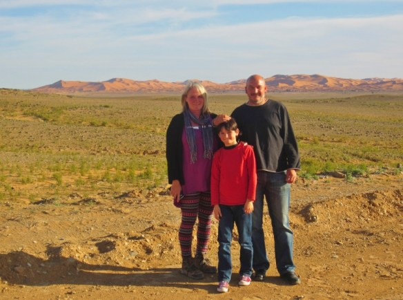 Denise, Steve and Drew Smith - Through the eyes of the traveling Child and parents.