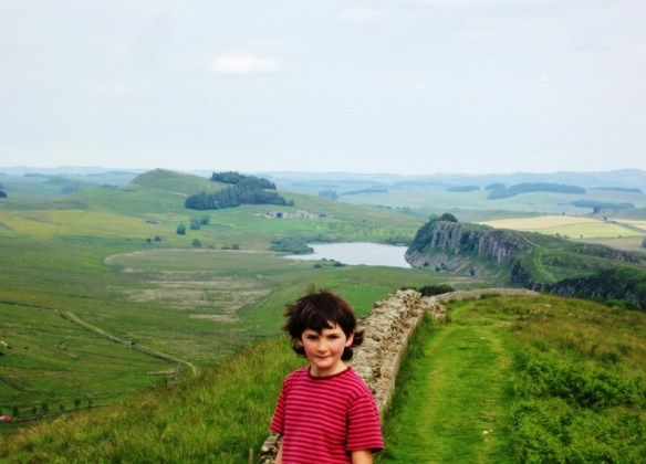 Drew Smith - Through the eyes of the traveling Child -Hadrians-Wall-Steel-Rigg-25th-June-2014