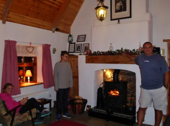 Christmas in Cork Ireland. Ireland vacation rental - Ivy Bridge Cottage Mallow Ireland