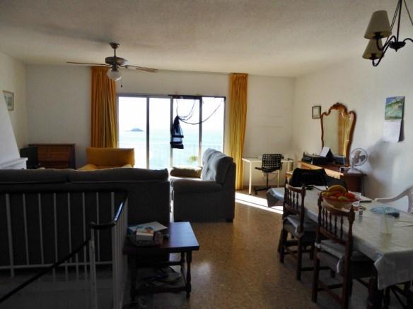 Spring Cleaning in Almunecar Spain Living Room