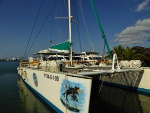 Catamaran Tour with Alcudia-Sea-Trips-Mallorca-Spain-Catamaran
