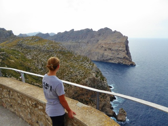 Look out over Cape Formentor, Mallorca Spain