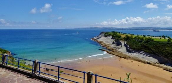 Santander Cantabria Spain r- beaches and golf course