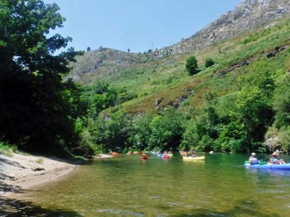 Canoeing Arriondas Asturias Spain Trip4Real