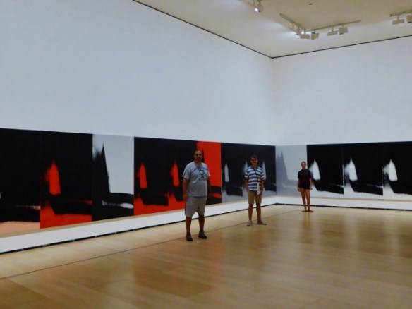 Guggenheim Bilbao Basque Country Spain Andy Warhol exhibit