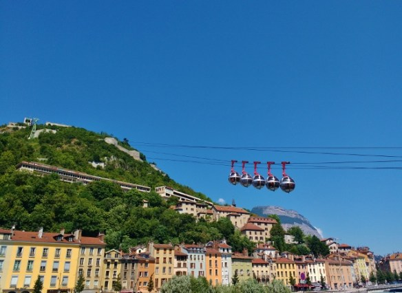 2 nights in Grenoble France and it was a ghost town