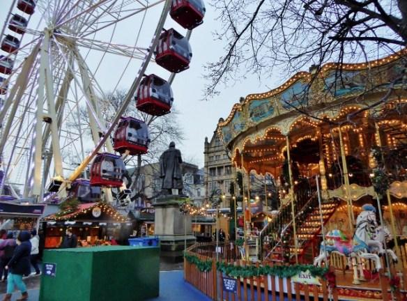 Edinburgh Scotland Christmas Markets and Rides