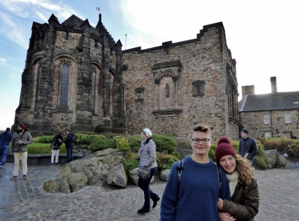Morning at Edinburgh Castle