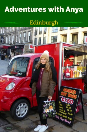 It's Christmas in Edinburgh! Christmas markets, rides & shopping on Princes street. A ghost tour, Camera Obscura, Edinburgh Castle, Loch Ness, Whisky & more
