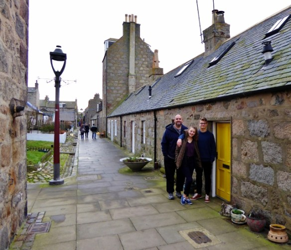 One Of The Best Tiny House Villages Footdee Fittie made up of 2 squares of tiny homes