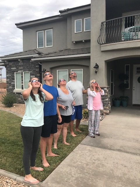 The Great American Solar Eclipse St. George Utah Wagoners Abroad