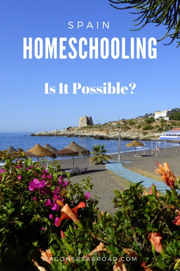 We are often asked about homeschooling in Spain. Is homeschooling illegal in Spain? Are there options to homeschool Spain? We share resources & information. Read more on WagonersAbroad.com