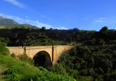 Spanish Civil War Walking across the old Roman Bridge in Maro. Knowing this was the exact path of theLa Desbandá (The massacre of the road from Malaga to Almería,1937).