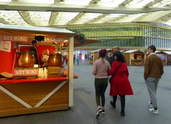 Paris Christmas Market at Les Halles
