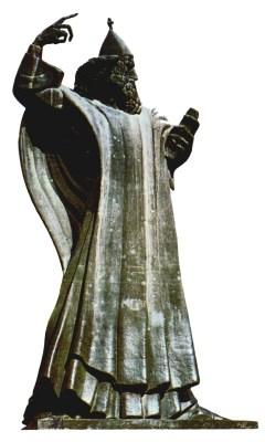 Grgur-Ninski-statue